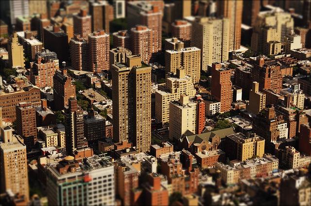 Vue immeubles